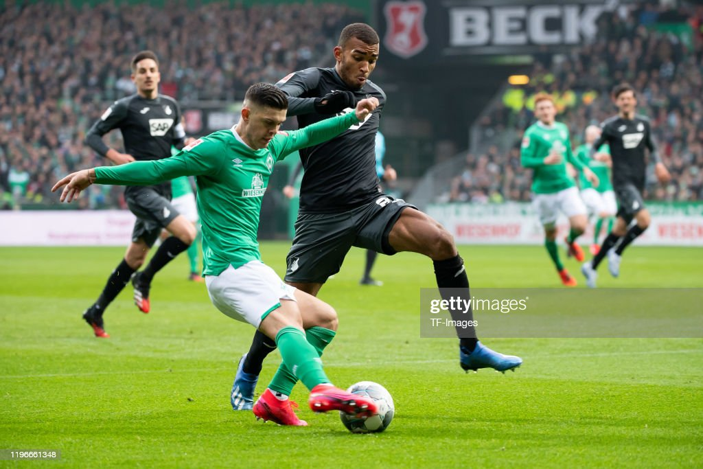 SV Werder Bremen v TSG 1899 Hoffenheim - Bundesliga : News Photo