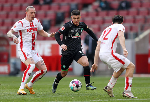 DEU: 1. FC Koeln v SV Werder Bremen - Bundesliga