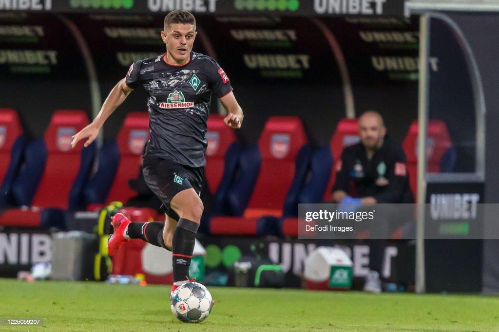 1. FC Heidenheim v Werder Bremen - Bundesliga Playoff Leg Two : News Photo