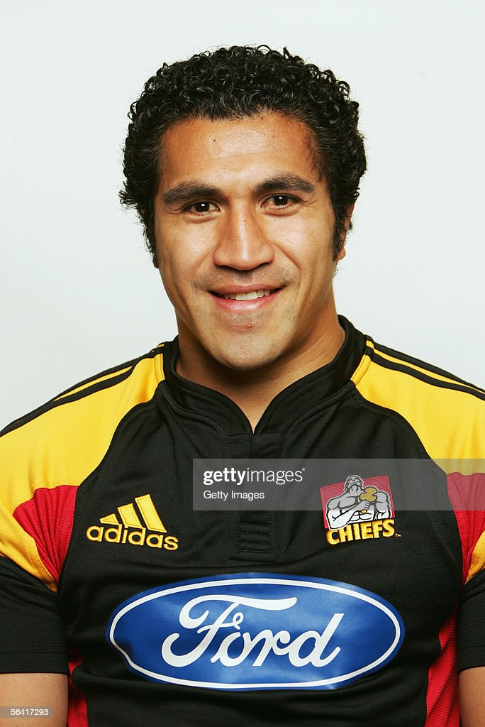 Mils Muliaina of the Waikato Chiefs poses during a team portrait session December 12, 2005 in Hamilton, New Zealand.