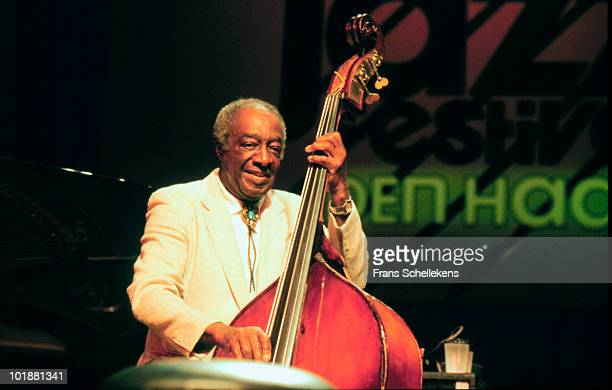 Milt Hinton performs live on stage at the North Sea Jazz Festival in The Hague, Netherlands on July 11 1991