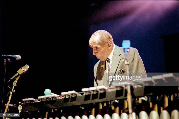 Milt Jackson, vibraphone, performs on July 11th 1998 at the North Sea Jazz Festival in the Hague, Netherlands.