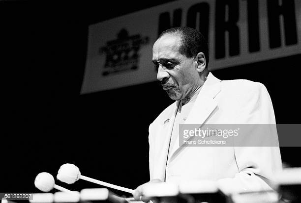 Milt Jackson, vibraphone, performs on July 13th 1997 at the North Sea Jazz Festival in the Hague, Netherlands.