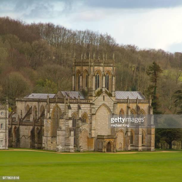 Milton Abbas Abbey.