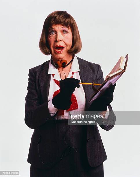 Milton Berle Dressed as Woman