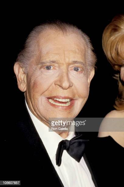 Milton Berle during 1993 American Friends Hebrew University Scopus Awards Honoring Larry King in Beverly Hills, California, United States.