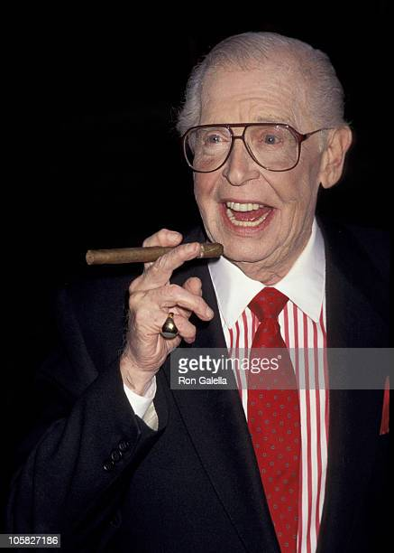 Milton Berle during 47th Annual Emmy Awards - Nominees' Reception in Westwood, California, United States.