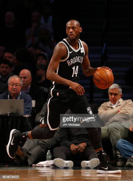 Milton Doyle of the Brooklyn Nets in action against the Toronto Raptors at Barclays Center on January 8 2018 in the Brooklyn borough of New York City...