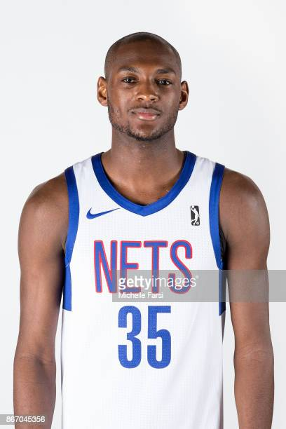 Milton Doyle of the Long Island Nets poses for a heaf shot on the NBA GLeague Media Da at NYCB Live in Uniondale NY on October 26 2017 USER User...