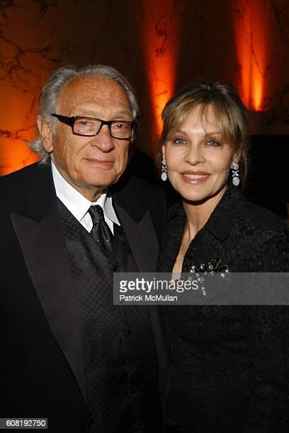 Milton Dresner and Patricia Eltinge attend STEVEN ANGELA KUMBLE'S Wedding Celebration at Metropolitan Club on April 13 2007 in New York City