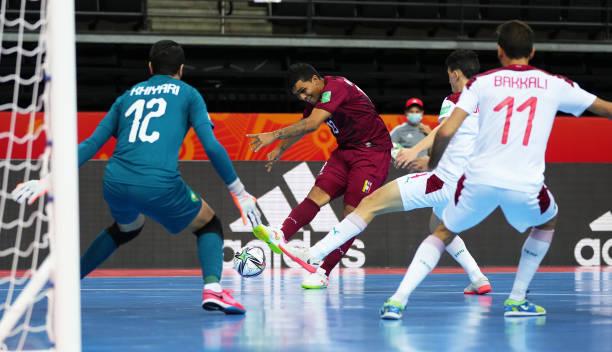 LTU: Venezuela v Morocco: Round of 16 - FIFA Futsal World Cup 2021