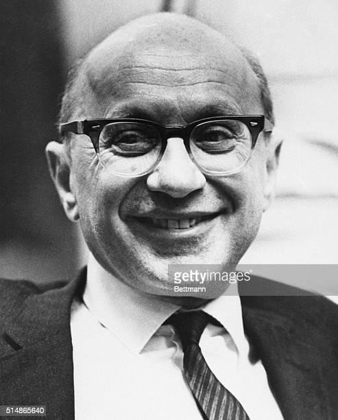 Milton Friedman economist professor University of Chicago shown in file photo. 7/9/69.