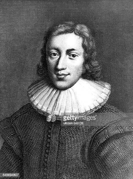 Milton John *0912160808111674Dichter Staatsphilosoph GB Portrait Stahlstich undatiert