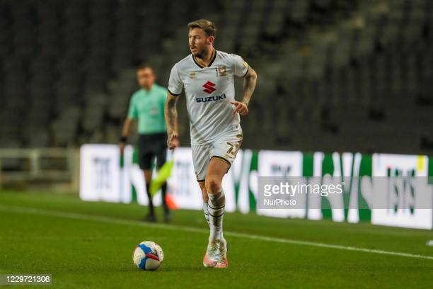 Milton Keynes Dons Ben Gladwin during the second half of the Sky Bet League One match between MK Dons and Hull City at Stadium MK, Milton Keynes on...