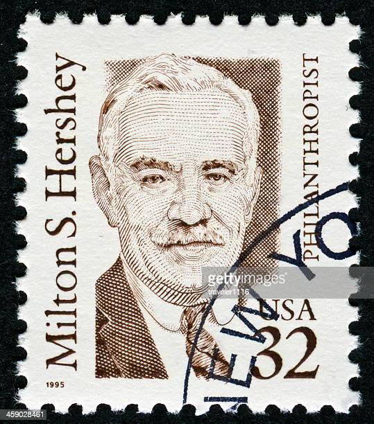 Milton S. Hershey Stamp