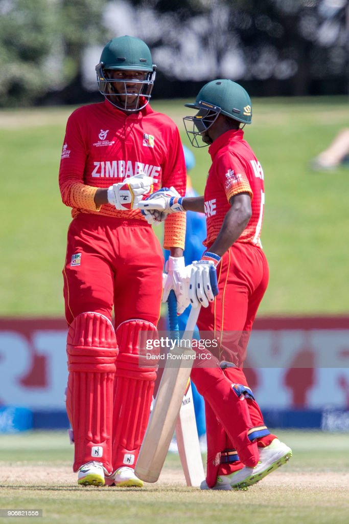 ICC U19 Cricket World Cup - India v Zimbabwe