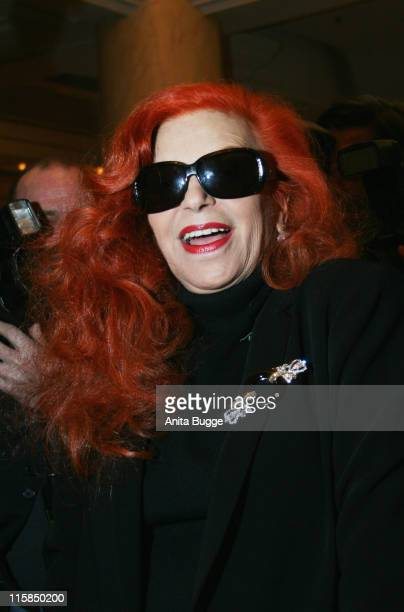 Milva attends the Berlin Filmball on day eight of the 58th Berlinale Film Festival at the Berlinale Palast on February 14 2008 in Berlin Germany