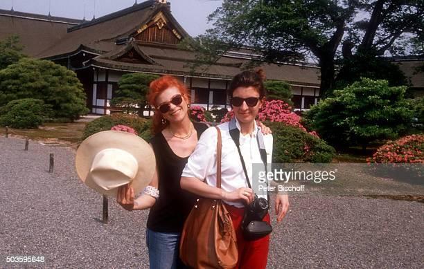 Milva Tochter Martina Corgnati am in Kyoto Japan