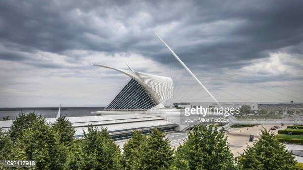 milwaukee art museum, wisconsin, united states - iron_county,_wisconsin stock pictures, royalty-free photos & images