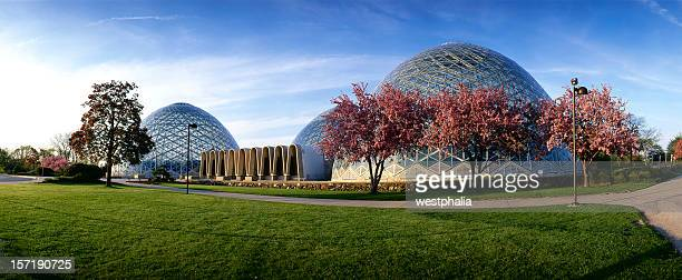 milwaukee domes - milwaukee stock pictures, royalty-free photos & images