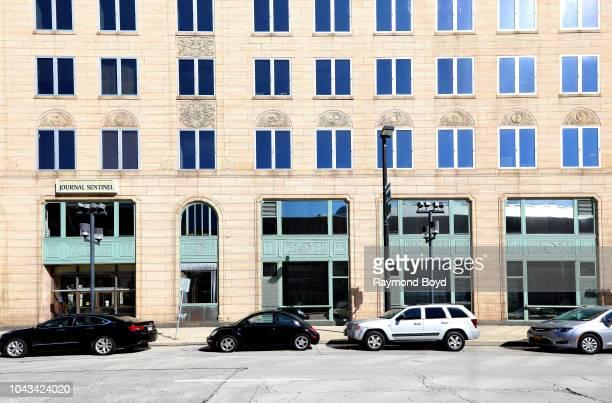 Milwaukee Journal Sentinel Building in Milwaukee Wisconsin on September 15 2018