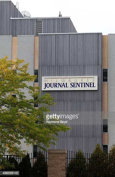 Milwaukee Journal Sentinel Building on September 20 2014 in Milwaukee Wisconsin