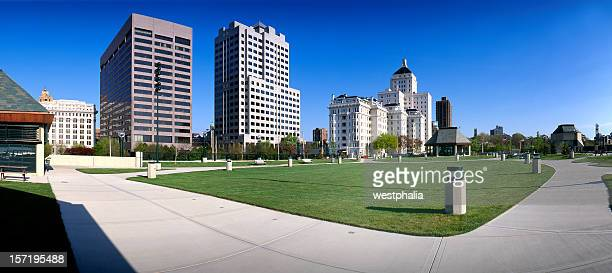 milwaukee skyline - milwaukee county  wisconsin stock pictures, royalty-free photos & images