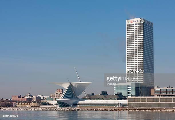 Edificios de la ciudad de Milwaukee