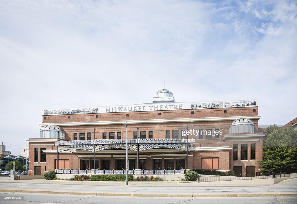 Milwaukee Theatre : Stock Photo