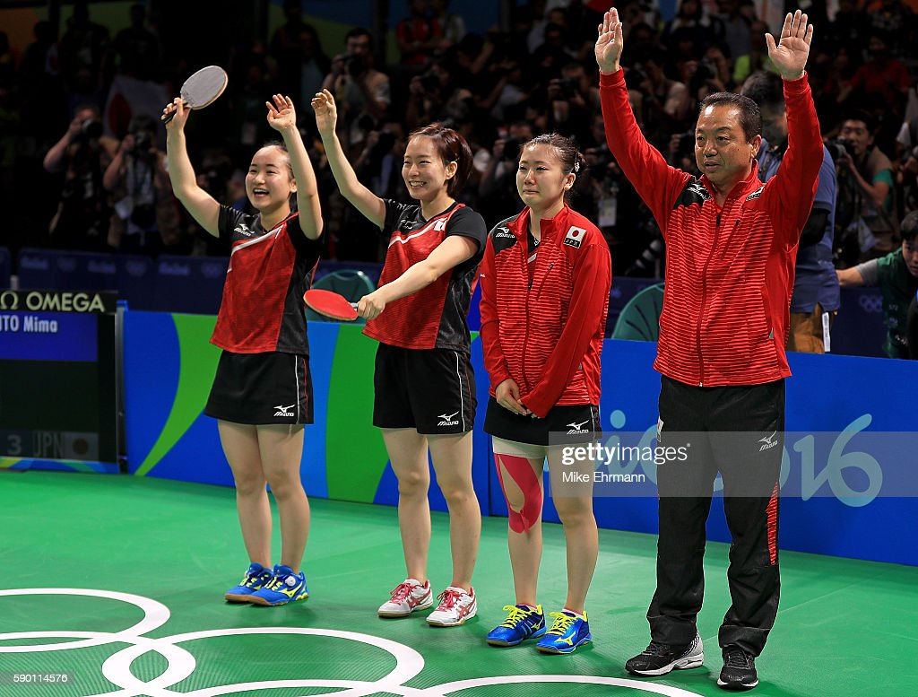 Table Tennis - Olympics: Day 11