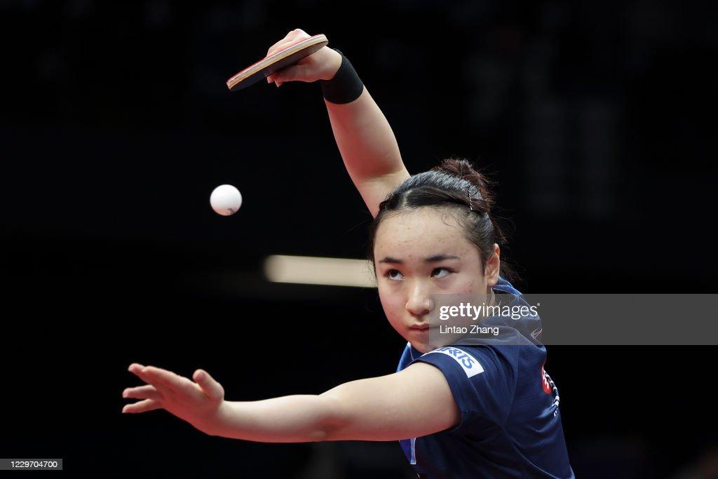 2020 ITTF Finals - Day 3 : ニュース写真