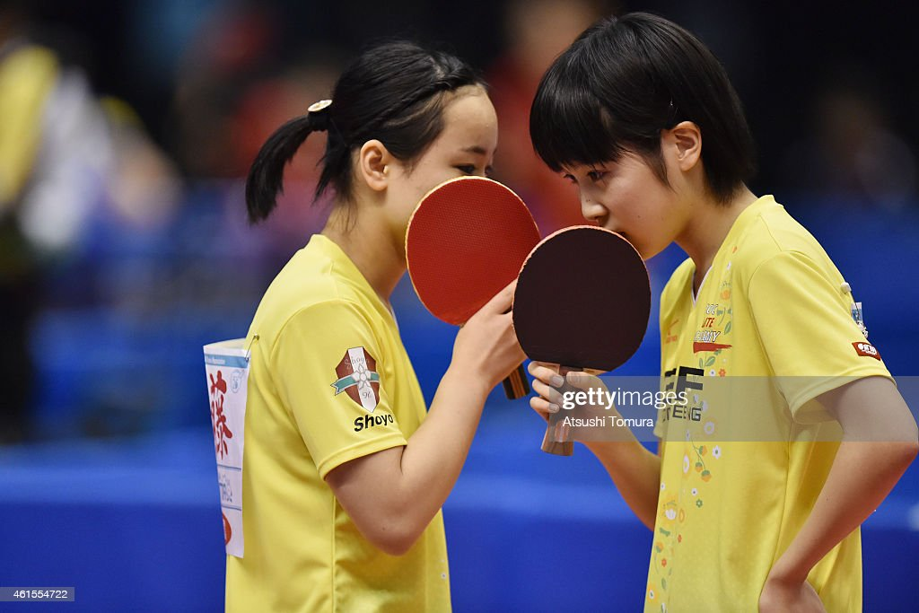 All Japan Table Tennis Championships - Day 4 : News Photo