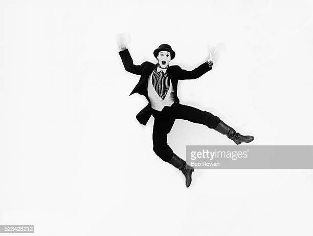 Mime Jumping for Joy