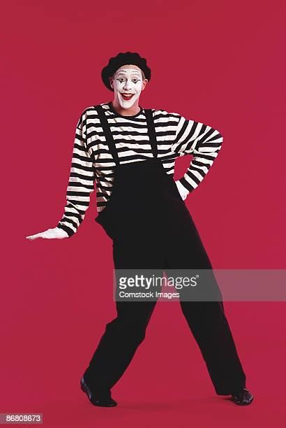 mime leaning - mime stock photos and pictures