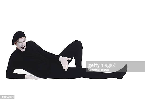 Mime lounging