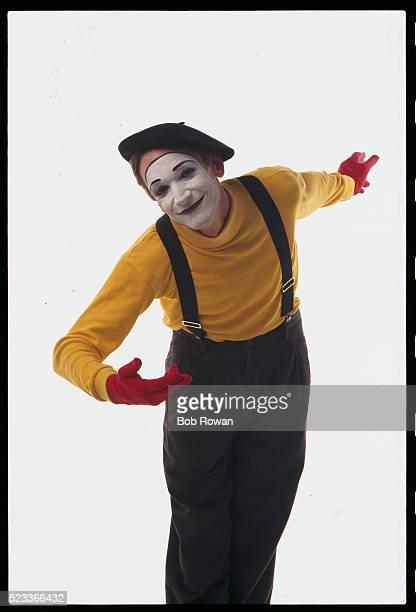 mime patrick treadway bowing - お辞儀 ストックフォトと画像