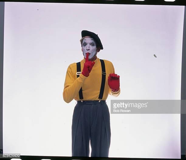 Mime Shushing