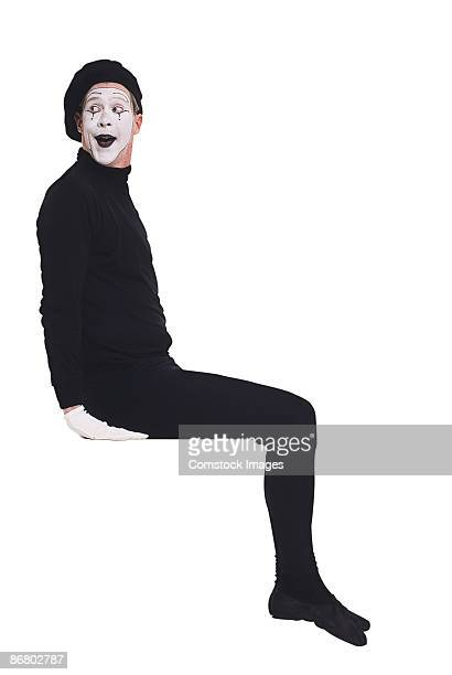 Mime sitting