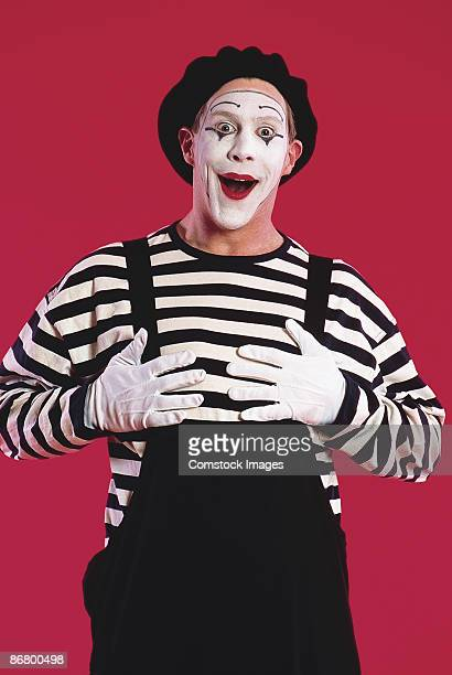 Mime smiling