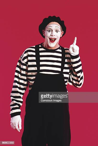 Mime with idea