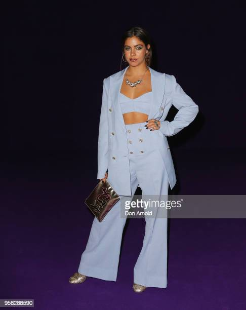 Mimi Elashiry attends the Alice McCall show at MercedesBenz Fashion Week Resort 19 Collections at Carriageworks on May 14 2018 in Sydney Australia