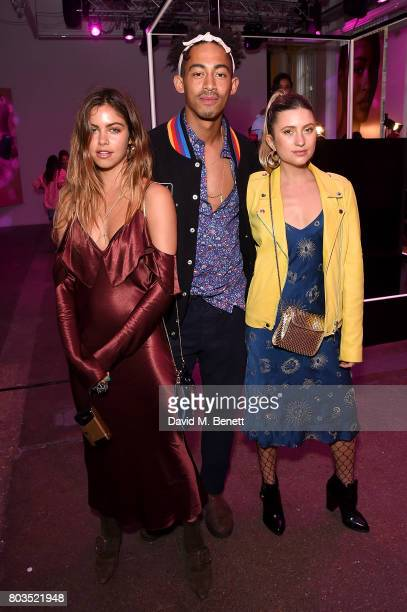 Mimi eLashiry Jordan Stephens and Natascha Elisa attend cosmetics brand NARs summer party alongside VIP friends and fans of the brand at Protein on...