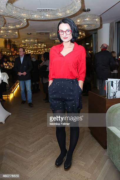 Mimi Fiedler attends the D'Art by Hardy Krueger Jun Vernissage on December 10 2014 in Vienna Austria