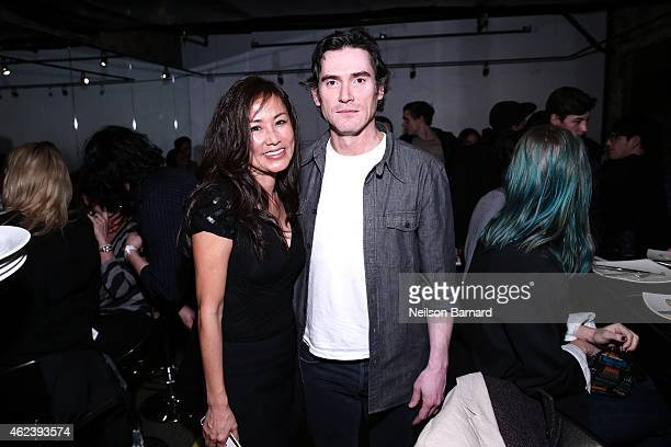 Mimi Griswold and Billy Crudup attend ChefDance 2015 presented by Victory Ranch and sponsored by Merrill Lynch Freixenet and Anchor Distilling on...