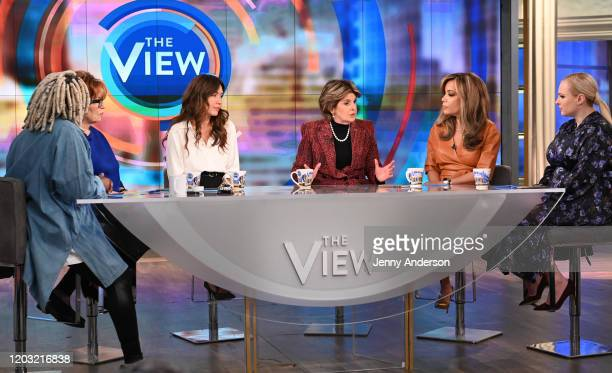 """Mimi Haleyi and Gloria Allred are the guests today, Tuesday, 2/25/20 on ABC's """"The View."""" """"The View"""" airs Monday-Friday, 11am-12pm, ET on ABC. WHOOPI..."""