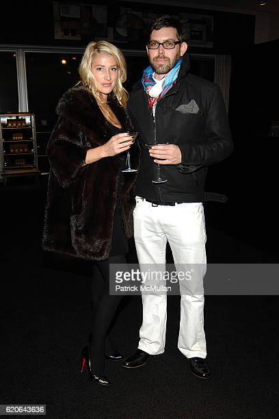 Mimi Jacobson and Aristotle Circa attend Tom Ford Beauty and Neiman Marcus Host Private Cocktail Party to Celebrate the Launch of Tom Ford Private...