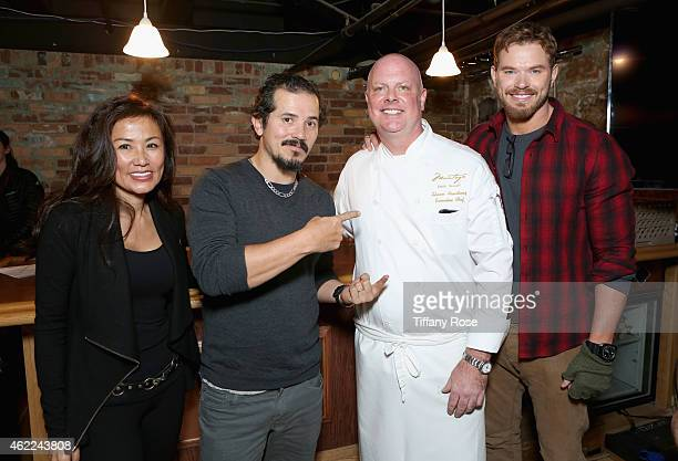 Mimi Kim, John Leguizamo, Shawn Armstrong and Kellan Lutz attend the ChefDance 2015 presented by Victory Ranch and Sponsored by Merrill Lynch,...