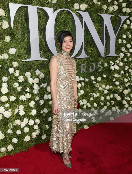 Mimi Lien attends the 2017 Tony Awards at Radio City Music Hall on June 11 2017 in New York City