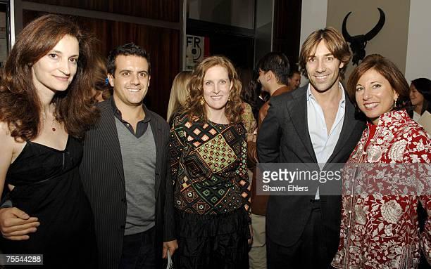 Mimi Lombardo Fashion Director of Travel Leisure Amodeo Scognamiglio Laura Begley Style Director of Travel Leisure Roberto Faraone Mennella and Ellen...