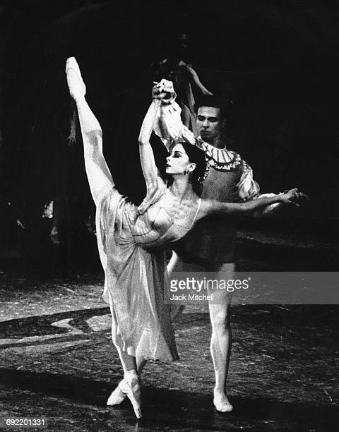 Mimi Paul and Frank Ohman in New York City Ballet's production of George Balanchine's 'Don Quixote' in 1963